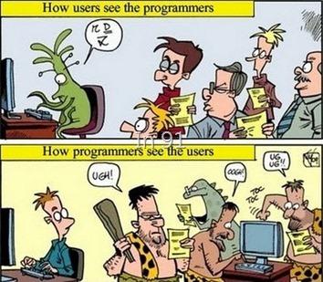 使用者與開發人員