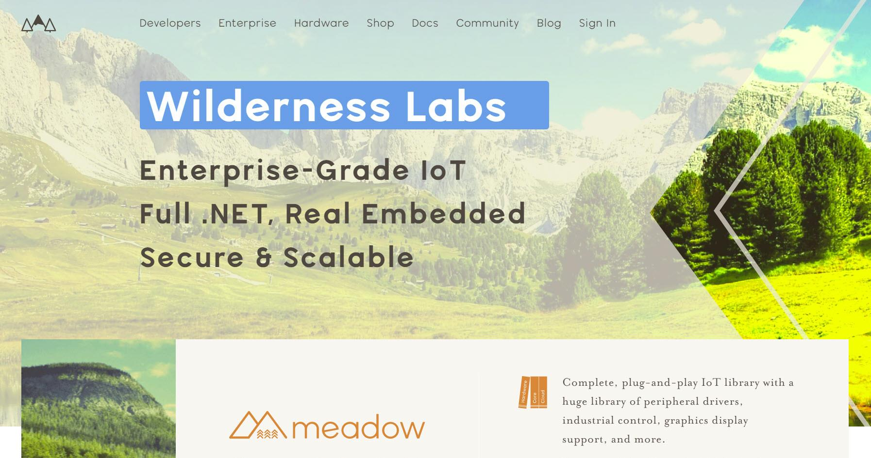 Wilderness Labs WebSite