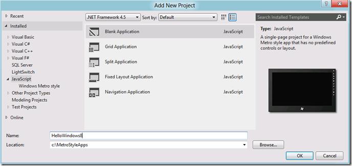 vs11-create-hello-windows8-project